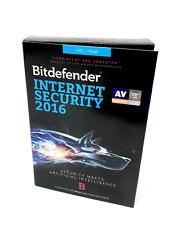Bitdefender Internet Security 2016 Software 1PC/1Year #3135