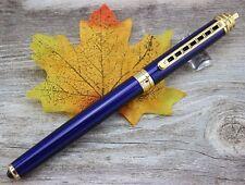 Jinhao rollerball rollerball templo paz oro azul pen bolígrafo + estuche