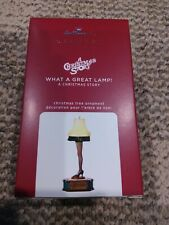 2020 Hallmark Ornaments What A Great Lamp A Christmas Story Magic With Light