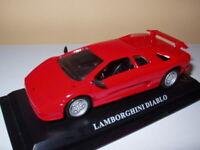 DP2T voiture 1/43 DEL PRADO : LAMBORGHINI Diablo rouge