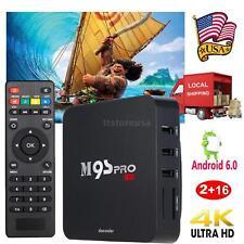 M9S Pro 4K Android 6.0 S905X Quad Core 2G/16G TV Box Streaming WIFI Media Player