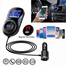 Wireless Handsfree Wireless FM Transmitter MP3 Player 2 USB Charger Car Adapter