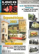 Loco Magazine No No 678 Expometrique 2003/Diesel GM 204 Sncb of Roco / Toad EAST