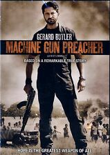 NEW DVD  // Machine Gun Preacher // Kathy Baker, Gerard Butler,