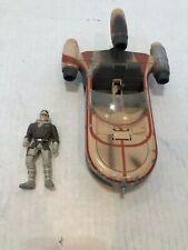 Star Wars Vintage Landspeeder and Han Solo Action Figure 1995