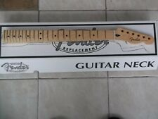 More details for genuine fender telecaster modern one piece maple neck, boxed 099-5102-921