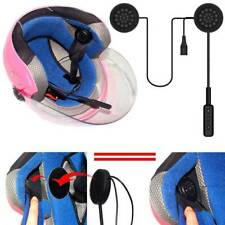 Wireless Bluetooth Motorcycle Motorbike Helmet Headset Speaker Micro Headphone