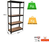 STORAGE RACKING / GARAGE SHELVES / HEAVY DUTY SHELVING / 5 TIER SHELVE