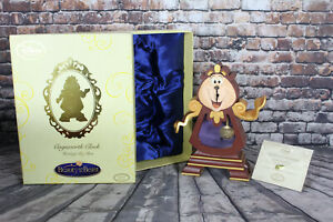Disney Beauty and the Beast Limited Edition Cogsworth Clock