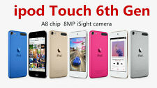 New Brand Apple iPod Touch 6th Generation 128GB A8 8MP Cam - All Colors