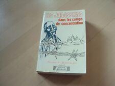 livre LES JURASSIENS dans les camps de concentration