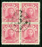 China 1944 Republic Northreast SYS w/Military Station 435 Cancel M356 ⭐⭐⭐⭐⭐