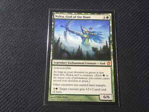 Nylea, God of the Hunt Theros Green Mythic Rare MTG Magic the Gathering Card