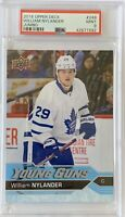 2016 17 William Nylander 1 UPPER DECK YOUNG GUNS ROOKIE JUMBO OVERSIZED RC PSA 9