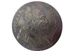 Italie Vatican Innocent XII Antonio Pignatelli Piastre 1698 RARE 💥Réamorçage💥