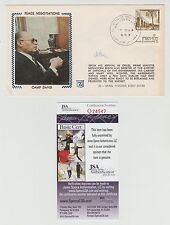 MENACHEM BEGIN SIGNED CAMP DAVID PEACE NEGOTIATIONS CACHET FIRST DAY 9/22/78 JSA