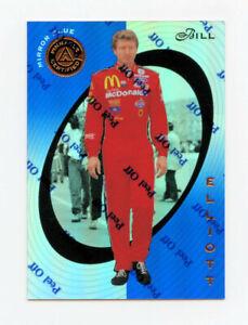 Bill Elliott 1997 Pinnacle Certified Mirror Blue Parallel Insert Card 1:199 #7