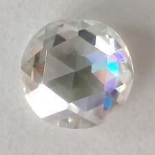 Rose Cut Loose Moissanite Diamond For Ring 1.13 Ct 7.03 Mm Vs1 Near White Round
