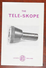 TELE-SKOPE OPTICAL ADAPTOR FOR CAMERA LENSES INSTRUCTION BOOK/162752