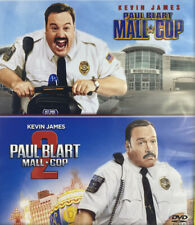 New! Paul Blart Mall Cop 1 + 2 DVD | Family Comedy | PG Movie | Kevin James