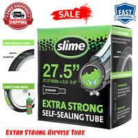 "Slime Extra Strong Bicycle Tube, 27.5"" X 2.0-2.40"" Schrader-30088 Free Shipping"