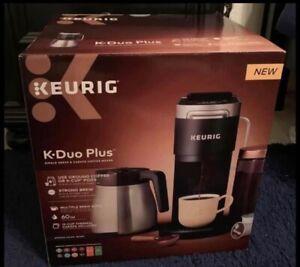 Keurig K-Duo Plus Single-Serve and Carafe Coffee Maker - Black
