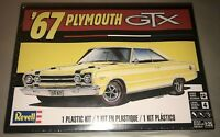 Revell 1967 Plymouth GTX 1:25 scale model car kit new 4481