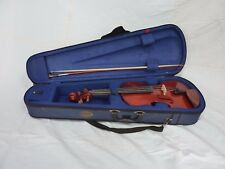 """Full size """"Stentor"""" violin with bow and case"""