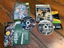 Lot 2 XBOX Star Wars: BATTLEFRONT I & II 1 & 2 Complete Game ~Very Good~