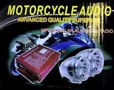 Motorcycle Audio Remote Sound System Support SD USB MP3 FM Radio New