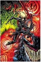 Venom #32 KYLE HOTZ EXCLUSIVE VIRGIN VARIANT *IN-HAND* RARE KNULL SPIDER-MAN NM