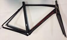 Telaio bici corsa carbonio Nero Technology carbon road bike frame 54