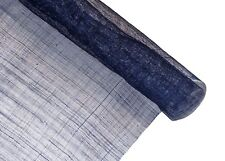 Stiffened Sinamay Millinery Fabric - Navy Blue - 1 Meter x 90cm