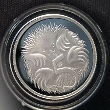 Australian 2003 5 Cent silver proof ex-Fine silver Proof set -LOW mintage