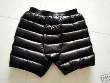 Shiny Glossy Nylon Wet-Look Jogging Down Shorts Short Trousers Sweatpants Pants