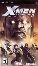 X-Men Legends II 2 Rise of Apocalypse UMD PSP GAME SONY PLAYSTATION PORTABLE