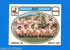 CALCIATORI PANINI 1977-78 - Figurina-Sticker n. 370 - BARI SQUADRA -New