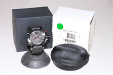 OAKLEY DOUBLE TAP WATCH STEALTH EDITION W/ UNOBTAINIUM BAND STAINLESS DOUBLETAP