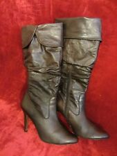 Brown Leather ALDO High Boots size 40 EUR 9 US