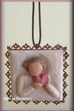 FROM THE HEART METAL EDGED ORNAMENT FROM WILLOW TREE® ANGELS FREE U.S. SHIPPING