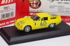 BEST ALFA ROMEO TZ1 #60 TARGA FLORIO 1965 REF 9061 1/43