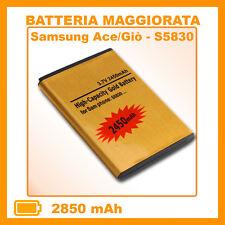 Batteria Maggiorata S5830 per GOLD SAMSUNG Ace Giò Wave 2450mAh potenziata