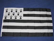 3X5 BRETAGNE FLAG FRENCH FRANCE DRAPEAU BRITTANY F595