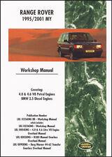 Range Rover P38 4.0 4.6 V8 Benzina 2.5 Diesel 1995-2001 Fabbrica Manuale RR95WH