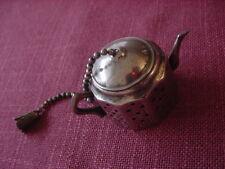 Teeei argenté Made in England