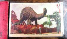 New listing Dinosaur Postcard 1933 Century of Progress Brontosaurus-Sinclair