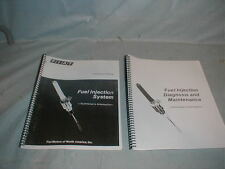 Fiat  124 2000 Spider FUEL INJECTION REPAIR MANUAL Set *New*  #9199