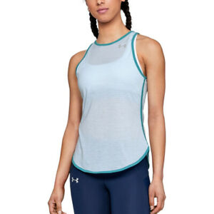 Under Armour UA Threadborne Ladies Striker Open Back Racer Tank Running Vest