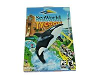 SeaWorld Adventure Parks Tycoon PC CD Rom Game 2003 Activision Slightly Used EUC