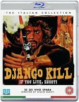 Django Kill - Se Voi Live Shoot Blu-Ray Nuovo (88FB269)